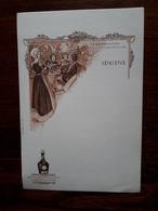 L18/132 Menu Publicitaire. Benedictine. - Menus