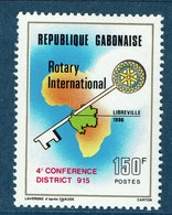Gabon, Rotary International, 1986,  MNH F - Gabon (1960-...)