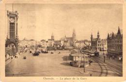 Ostende. - Place De La Gare. - Oostende