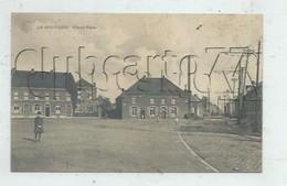 Frameries (Belgique, Hainaut) :  La Grand Place Du Hameau De La Bouverie En 1919 (animé) PF. - Frameries