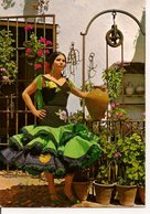 L35B006 - Espagne Typique - Danseuse Dans Une Cour  - SAVIR N°1.411 - Personnages