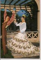 L35B007 - Espagne  - Couple De Danseurs - Robe Brodée Et  Volants Dentelle - PRAT - Danses