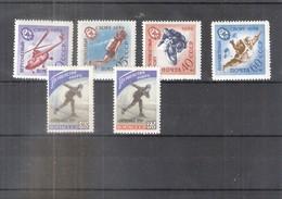 Sports 1959 - U.R.S.S. - 2 Séries Complètes - XX/MNH - 1923-1991 URSS