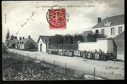 45, Vienne En Val, Ecole De Filles Route De Tigy - Autres Communes