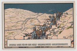 8687 Kriegsfursorge Wien War 1914 - 1918 Rote Kreuz Offiziele Karte Pinx Otto Barth - Weltkrieg 1914-18