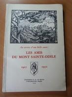 Les Amis Du Mont Sainte-Odile 1927-1952 Kuven. Nuss. Spindler. Ritleng - Livres, BD, Revues