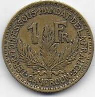Cameroun - 1 Fr  1925 - Cameroun