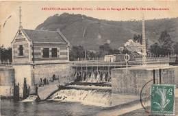 AMFREVILLE SOUS LES MONTS - Chutes Du Barrage Et Vue Sur La Côte Des Deux Amants - Autres Communes
