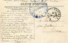 CACHET GROUPE ANNAMITE  (Castres)  506 - Regimenten