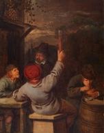 @@@ MAGNET - Netherlandish School, 17th Century, Men Drinking - Publicitaires
