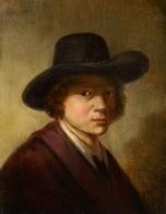 @@@ MAGNET - Netherlandish School, 17th Century, Portrait Of A Man In A Hat - Publicitaires