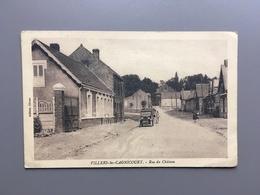 ARRAS - VILLERS-LES-CAGNICOURT - Rue Du Château - Arras