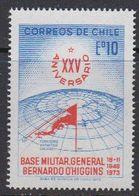 Chile 1973 Antarctica  25th Anniversary Base O'Higgins 1v ** Mnh (42147) - Onderzoeksstations