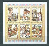 Niger - Correo 2001 Yvert 1581/6 ** Mnh - Níger (1960-...)