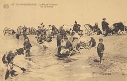 CPA - Belgique - Blankenberge - Blankenberghe - La Plage à L'heure De La Marée - Blankenberge