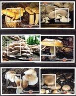 Malawi - 2018 Mushrooms Of Malawi MS Set (**) - Hongos