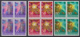 Liechtenstein 1985 Chrisrtmas / Weihnachten 3v Bl Of 4 ** Mnh (42148) - Liechtenstein
