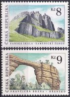 TSCHECHISCHE REPUBLIK 1995 Mi-Nr. 78/79 ** MNH - Tschechische Republik