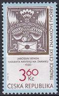 TSCHECHISCHE REPUBLIK 1996 Mi-Nr. 101 ** MNH - Tschechische Republik