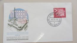"Berlin: FDC-Brief Mit 20 Pf ""INTERBAU Berlin 1957"" SoSt. Berlin NW21 Vom 6.7.57  Knr: 161 - Berlin (West)"