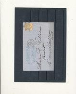 N°28 SUR LETTRE - 1863-1870 Napoleon III With Laurels