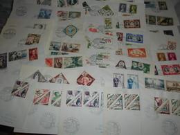 Collection , Monaco 37 Premiers Jours Des Annees 50 - Timbres