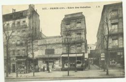 Belle Cpa 217.   PARIS (13e) .Eden Des Gobelins,  Avec FACADES De  MAGASINS - Paris (13)