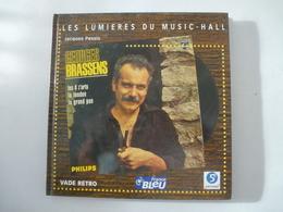 GEORGES BRASSENS : LUMIERES DU MUSIC-HALL  De Jacques PESSIS - Edition De 2001 - Détails Sur Les Scans. - Musique
