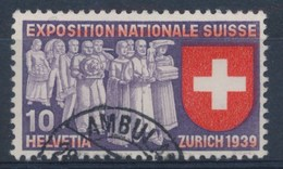 "HELVETIA - Mi Nr 338 - Cachet  ""AMBULANT"" - (ref. 1083) - Schweiz"