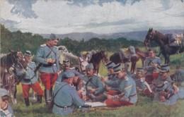 CPA Militaria -  En Guerre - Série A N° 5 - Une Bonne Partie (lot Pat 62) - Guerra 1914-18