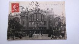 Carte Postale( O4 ) Ancienne De Paris , La Gare Du Nord - France