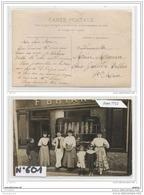 3876 AK/PC/CARTE PHOTO   BOULANGERIE F.BRIAND A IDENTIFIER TTB - Cartoline