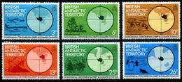 1982 British Antarctic Territory (6) Set - British Antarctic Territory  (BAT)