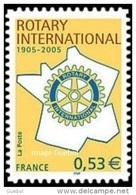 Autoadhésif(s) De France N°   52 ** Ou 3750 A - Centenaire Du Rotary - Neufs
