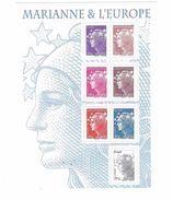 Bloc Feuillet Marianne De Beaujard - Neufs