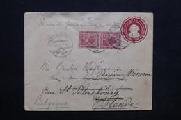 EGYPTE - Entier Postal + Complément Pour La Belgique En 1921 - L 24789 - 1915-1921 Protectorat Britannique