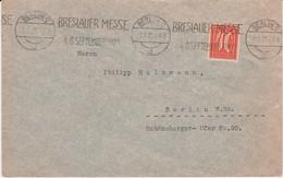 DR Infla Mi 163 Perfin Filo Firmenlochung Bf Bes Stempel MWSt Berlin 1921 - Germany