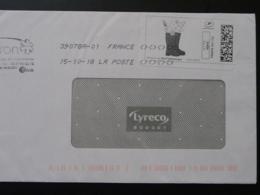 Bottes De Jardin Timbre En Ligne Sur Lettre (e-stamp On Cover) TPP 4341 - France