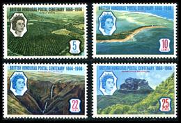 1966 British Honduras (4) Set - British Honduras (...-1970)