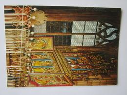 Freiburg I. Br. Munster U. L. Frau Sebastian Blumeneggkapeile, Neugotischer Altar, 1909-13 Geschaffen V. J. Dettinger - Freiburg I. Br.