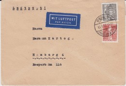 Berlin (West) MiF UPU Stephan U Berliner Bauten Luftpost Bf 1949 - Berlin (West)