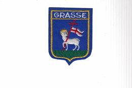 ECUSSON TISSU BRODE - GRASSE - Ecussons Tissu