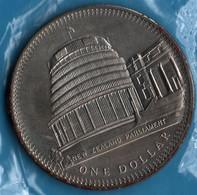 NEW ZEALAND 1 DOLLAR 1978 25th Anniv. Coronation KM# 47 - Nouvelle-Zélande