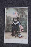 Guerre 1914 -18 : ALSACE /LORRAINE - Enfants - Patrióticos
