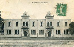 ALGERIE(AIN TEDELES) ECOLE - Autres Villes
