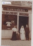 RUFFEC : Devanture Du Teinturier  E.FAURE - Superbe Carte Photo - Commerce - Métier - Ruffec