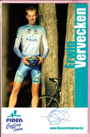 Fidea Cycling Team - Erwin Vervecken - Sportifs