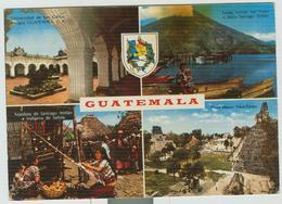 GUATEMALA - AEREO 1981-CARTOLINA 4 VEDUTE, ITALIA-RAVENNA - Guatemala