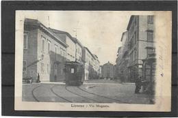 Livorno   *  Via Magenta  (tram) - Livorno