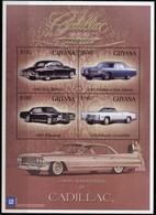 Guyana - Cent De Cadillac, Voitures - Feuillet Neuf // Mnh - Guyane (1966-...)